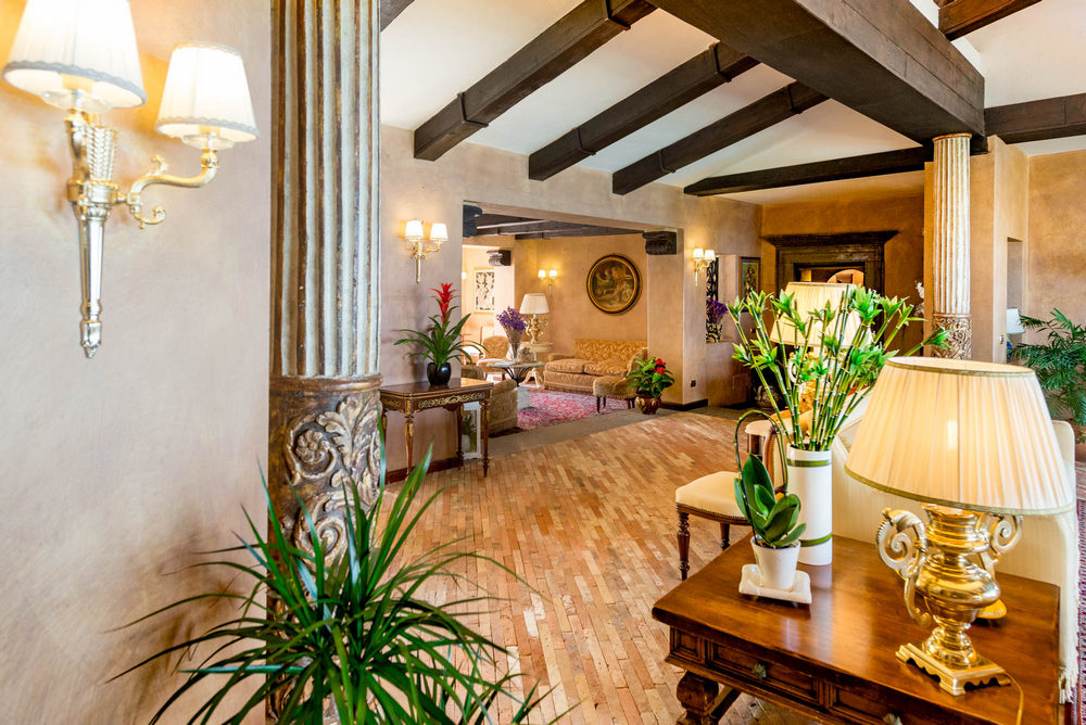 Most Of The Hotel Has Been Refurbished, Harmonising The Antique Terracotta Tile  Floor With The Wrought Iron Details, And Arranging The Antique And Valuable  ...